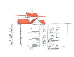 martin bird house plans. Rondeau-House-2 Martin Bird House Plans T