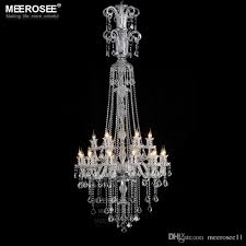 long crystal chandelier light fixture 12 lights clear crystal stair restaurant hotel lamp prompt 100 guanrantee tree branch chandelier decorative