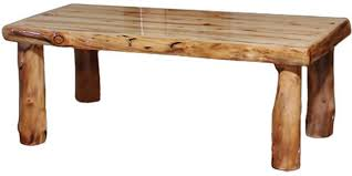 Shop the log coffee table and more contemporary furniture designs by linteloo at haute living. Rustic Log Living Room Coffee Table 48w In Wild Panel Natural Log Ctab 48 Wn High Country