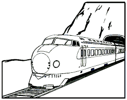 Small Picture Coloring Pages Of Trains Bebo Pandco