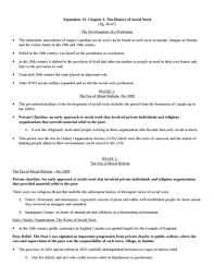sowk lecture notes sowk lecture critical social work 23 the history of social work docx