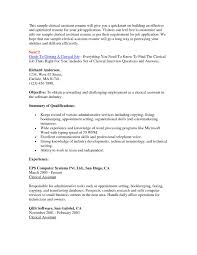 Sample Resume For Clerical 60 Enkindle Sample Resume for Clerical Position Spitting Image 30