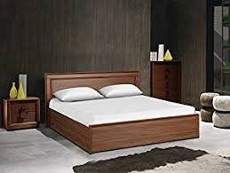 king size bed. Perfect Size HomeTown Stark King Size Bed With Box Storage Walnut Inside O