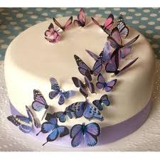Buy Butterfly Party Supplies Online At Build A Birthday Nz