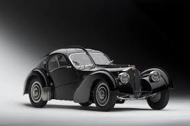 The bugatti type 57 and later variants (including the famous atlantic and atalante) was an entirely new design created by jean bugatti, son of founder ettore. 1 18 Autoart Bugatti Coupe Atlantic Type 57 Sc 57sc 1938 Schwarz Black Diecast Car Model Livecarmodel Com