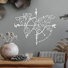 world map wall art metal wall art metal
