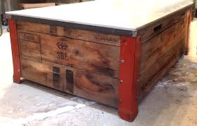packing crate furniture. shipping crate coffee table packing furniture