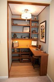 stupendous change closet into office janet perry walk in small closet office space small size