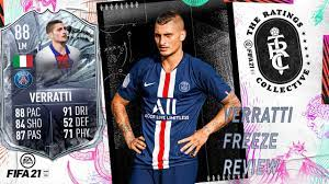 FIFA 21 ULTIMATE TEAM - VERRATTI FREEZE REVIEW - ¿MERECE LA PENA? - YouTube
