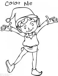 Elf On The Shelf Coloring Pages Free Printable Valid Anime Girl