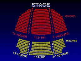 Hayes Theater Seating Chart School Of Rock Seating Chart Www Bedowntowndaytona Com