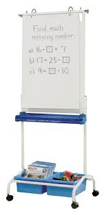 Pocket Chart With Stand Pacon Two Way Adjustable Pocket