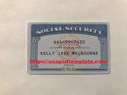Buy Social Security Number and Card ...