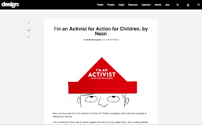 Design Week Jobs Im An Activist For Action For Children Campaign And