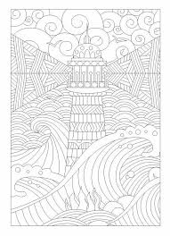Small Picture Lighthouse zentangle Zentangles Adult Colouring Pinterest