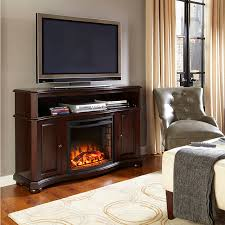 pleasant hearth merrill electric media fireplace merlot finish ghp group inc