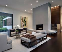 Modern Home in New Canaan Connecticut Living Room Interior