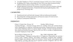 Restaurant Manager Resume Army Restaurant Manager Resume Samples
