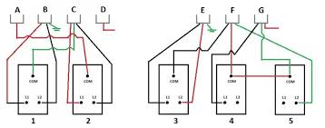 wiring diagram 2 gang light switch wiring diagram switch to multiple lights wiring diagrams for 1