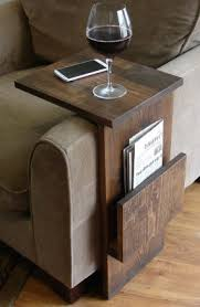 Armchair Side Table