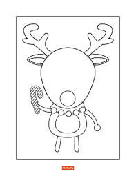 Top 20 reindeer coloring pages: 35 Christmas Coloring Pages For Kids Shutterfly