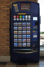 Illinois Lottery Vending Machines