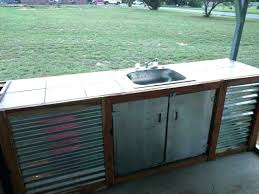 stainless outdoor kitchen best outdoor kitchen large size of sink drain station beautiful cabinet s stainless