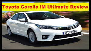 Toyota Corolla SE Review Inside and Outside Features All ...