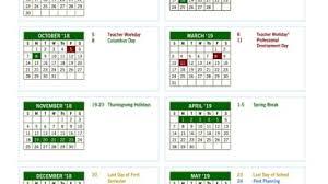 Fulton County Schools Calendar 2018-19