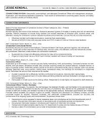 Correctional Sergeant Cover Letter Zonazoom Com