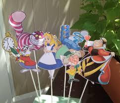 Alice In Wonderland Decorations 1 Alice In Wonderland Diy Centerpiece Birthday Party Decor