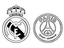 Kleurplaat Uefa Champions League 2018 Real Madrid Cf Paris Saint