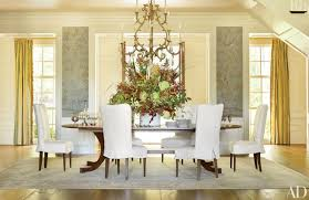 dining room decor. Exellent Dining Sophisticated Dining Room Decor By AD100 Designers With