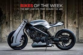 custom bikes of the week 4 february 2018 the best cafe racers scramblers