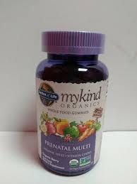 garden of life mykind organics prenatal multi whole food 120 gummies 10 2020