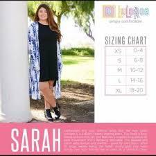 Lularoe Monroe Size Chart Lularoe Sarah Cardigan Size Chart Www Bedowntowndaytona Com