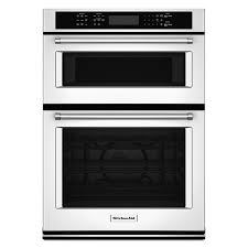 kitchenaid 30 electric self cleaning convection wall oven microwave combo white koce500ewh 3509 97 3 492 42 3 464 34 after rebate ge profile