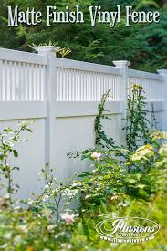 white privacy fence ideas. New Fence Ideas. Matte Finish PVC White Vinyl By Illusions Looks Like Privacy Ideas