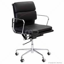 milan direct replica eames executive office. eames replica soft pad office chair black buy chairs leather and management on sale now at milan direct executive