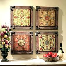 tuscan wall decor great arts kitchen art ideas design plates metal tuscan wall decor