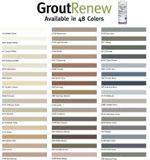 Lowes Grout Chart Grout Colors Stain Lowes Tec Chart Laticrete Ghofrani Co