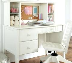 white desk with hutch. Small White Desk With Hutch Storage Pottery Barn Kids Intended For Inside Girls