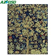 Online Shop <b>AZQSD</b> DIY Picture On Wall Oil <b>Painting</b> By Number ...