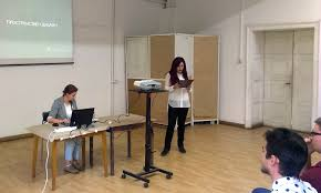 Официален сайт на специалност рекламен дизайн > Събития  В о к с Магистър защитиха Мария Кьосева Стефан Артамонцев