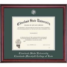 cleveland state university x classic diploma frame  framing success cleveland state university 11 x 14 classic diploma frame