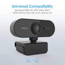 1080p Hd Usb Bilgisayar Kamerası 360 Derece Dönme Tabanı Ile Otomatik  Odaklama Kamera Web Kamera W/mic Görüntülü Görüşme Için Pc Kamera Desteği  Mac Win Satılık! > Bilgisayar ve ofis < BrandValue.news