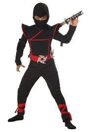 Ninja Suit Size Chart Stealth Ninja Kids Costume