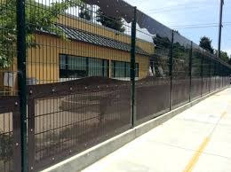 welded wire fencing fiesta design with perforated panels fence gate ideas26 wire
