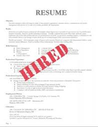 How To Make A Resumes Make My Resume A With No Job Experience