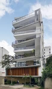 stylish balconies become integral parts of their buildings facade edificio trentino brasil building home office building home office